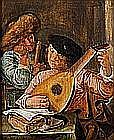Johannes HALS, école hollandaise du XVIIe siècle