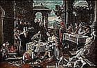 Gerolamo BASSANO (1566-1621), école italienne du XVIIe siècle