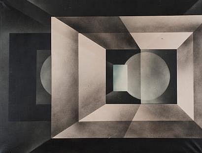 Bernard Jardel (1932-1984) Composition 213, 1971