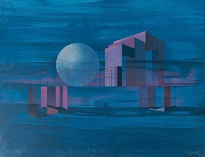 Bernard Jardel (1932-1984) Heliopolis, 1974