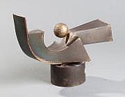 Sigismond KOLOS VARI (1899-1983) Sculpture en tôle