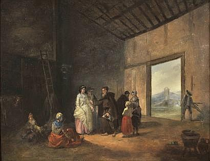 Marie-Marc-Antoine BILCOQ (1755 - 1838), attribué