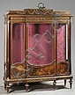 François LINKE (1855-1946) Vitrine à trois vantaux, Francois Linke, Click for value