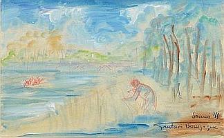 Gustave BOURGOGNE (1888 - 1968) Vue de Sannois