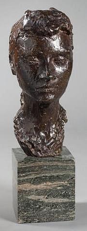Albert LECLERC (1906 -1975) Portrait de femme