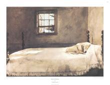 Andrew Wyeth - Master Bedroom - 1985
