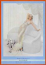 Avedon Marilyn Monroe as Jean Harlow Poster