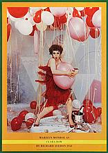 1958 Avedon Marilyn Monroe as Clara Bow Poster