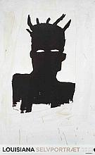 2012 Basquiat Self-Portrait Poster