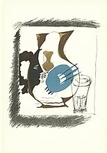 Braque Verre et Pichet Lithograph