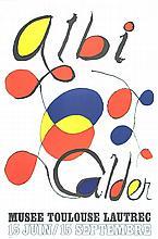 1971 Calder Albi Lithograph