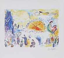 Chagall Les Quatre Saisons (Four Seasons) (mini) Giclee