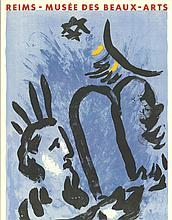 Chagall Moses and Tablets Lithograph