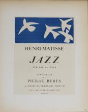 Henri Matisse - Jazz - Pierre Beres - 1959