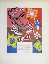 Henri Matisse - Madame de Pompadour - 1959