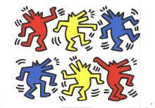 Keith Haring - Barking Dogs - 1992