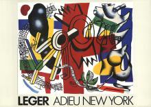 Fernand Leger - Adieu New York - 1986