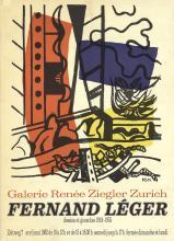 Fernand Leger - Dessins et Gouaches (Galerie Renee Ziegler) - 1962