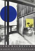 John Baldessari - Margo Leavin Gallery - 1990