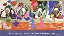 Menashe Kadishman - Four Sheep