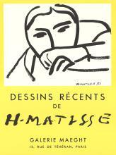 Henri Matisse - Dessins Recents - 1968