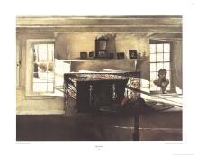 Andrew Wyeth - Big Room - 1990
