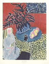 Henri Matisse - Interior with Black Fern