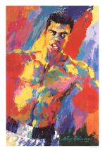 Leroy Neiman - Ali the Athlete of the Century - 2001