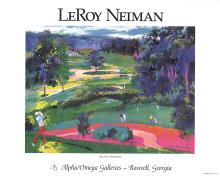 Leroy Neiman - Atlanta National - 1996