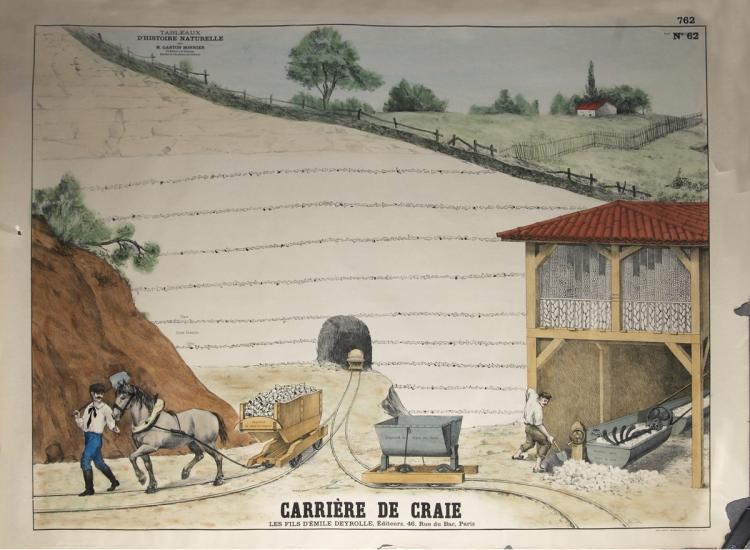 Emile Deyrolle - Carriere de Craie