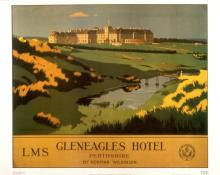 British Rail - Gleneagles Hotel - 1985