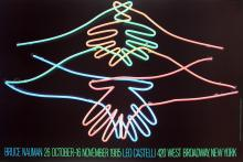 10 Bruce Nauman 1985 Big Welcome Posters