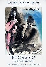 Pablo Picasso - 172 Dessins Recents - 1972