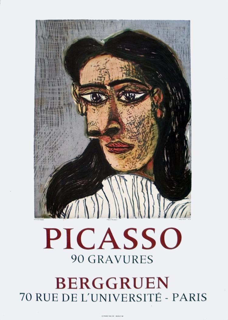 Pablo Picasso - 90 Gravures at Berggruen - 1971