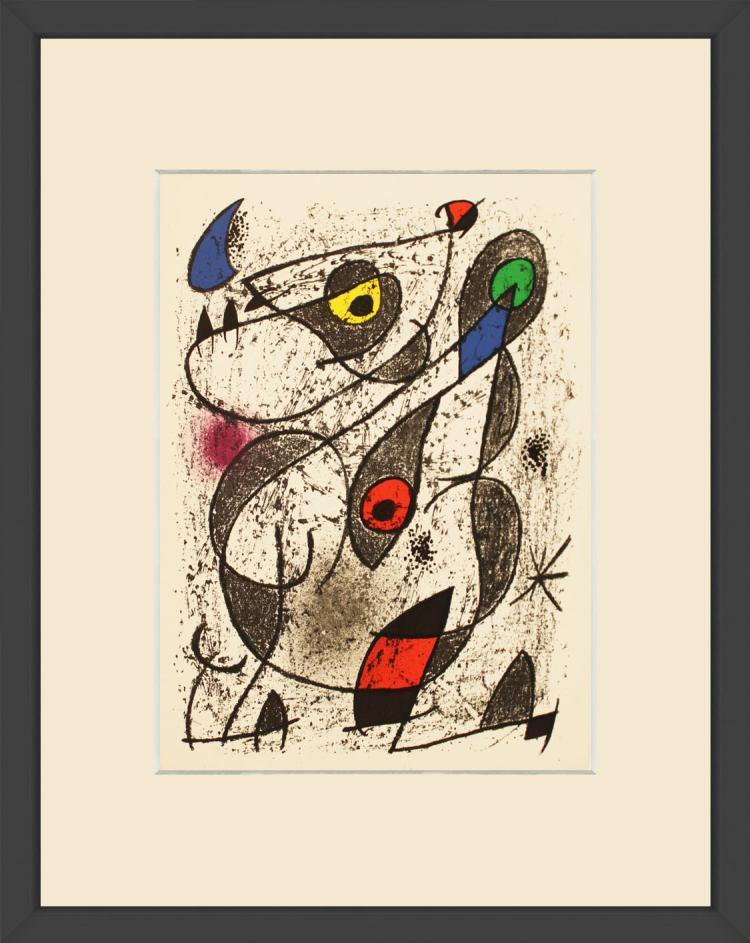 Joan Miro - A L'Encre II - 1972