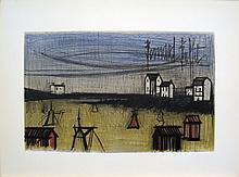 Bernard Buffet - A Small Beach (la Petite Plage) - 1966
