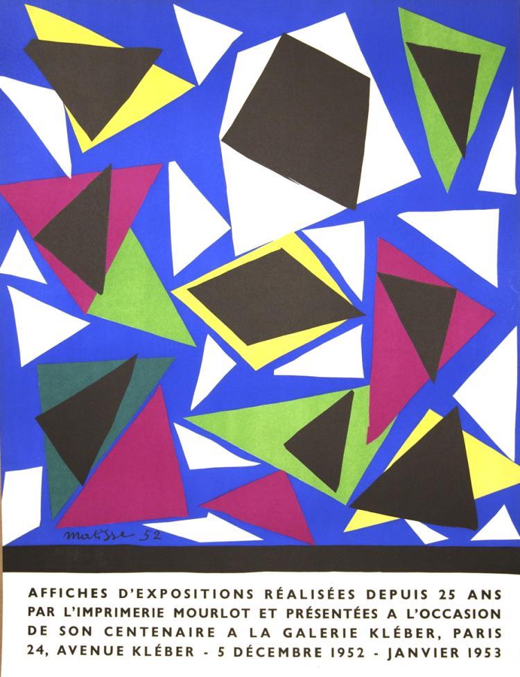 Henri Matisse - Affiches d'exposition - 1952