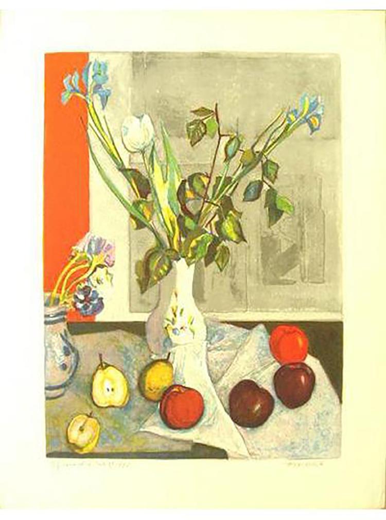 Roger Forissier - Apple Et Poire - SIGNED