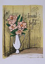 Bernard Buffet - Bouquet de Fleurs