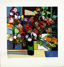 Camille Hilaire - Bouquet Rouge - SIGNED