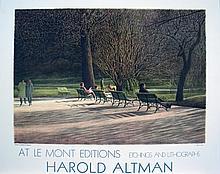 Harold Altman - Central Park Benches