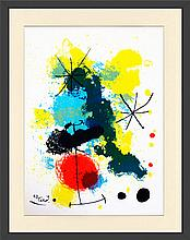 Joan Miro - Composition - 1964