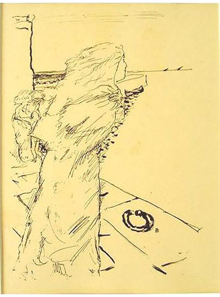 Pierre Bonnard - Dans La Chapelle De Saint-Cyprien - 1930