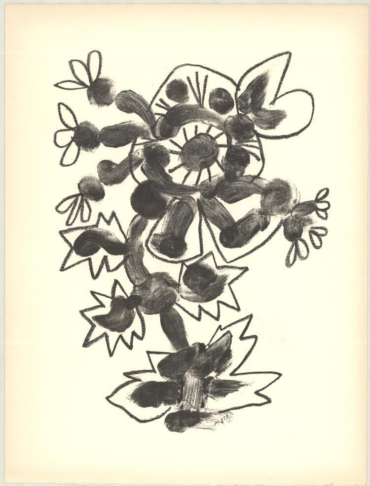 Pablo Picasso - De Memoire D'Homme II - 1950