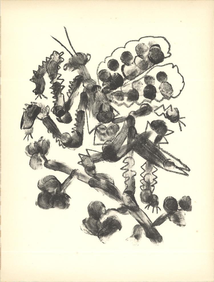 Pablo Picasso - De Memoire D'Homme VI - 1950