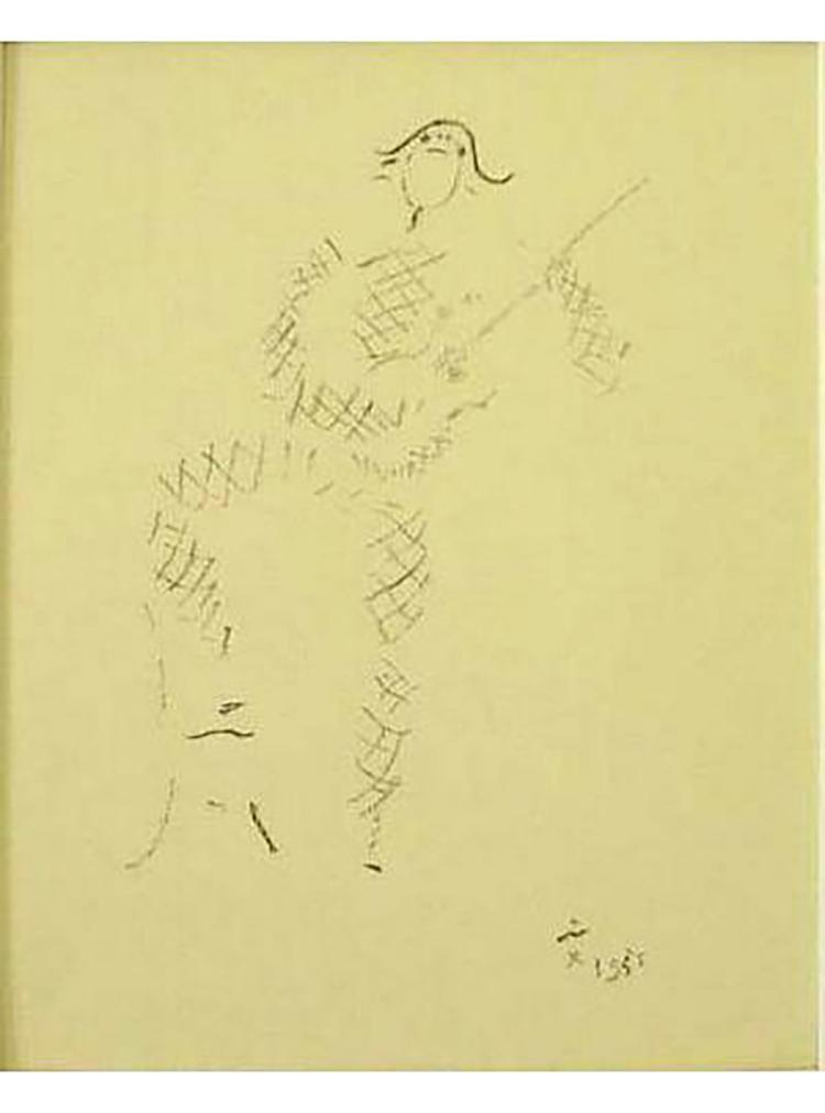 Jean Cocteau - Demain - 1954