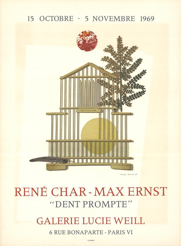 Max Ernst - Dent Prompte - 1969