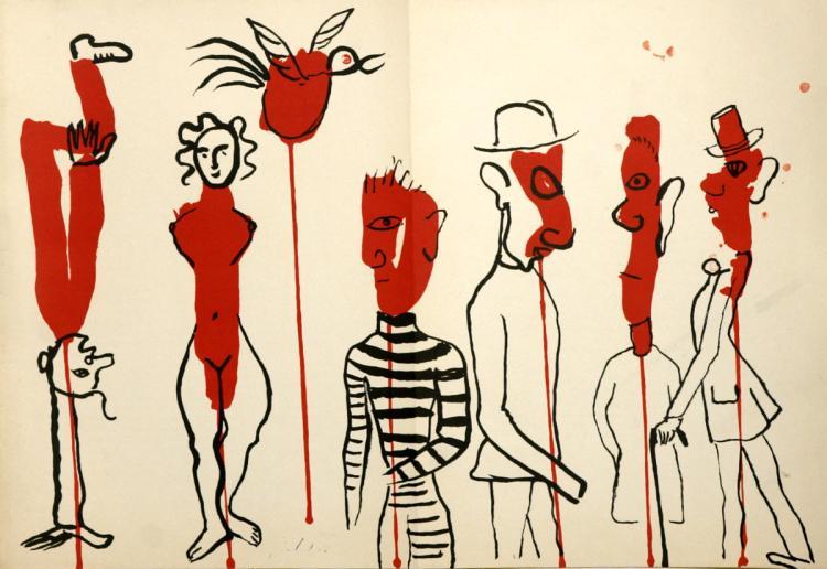 Alexander Calder - Derriere le Miroir No. 156 - 1966