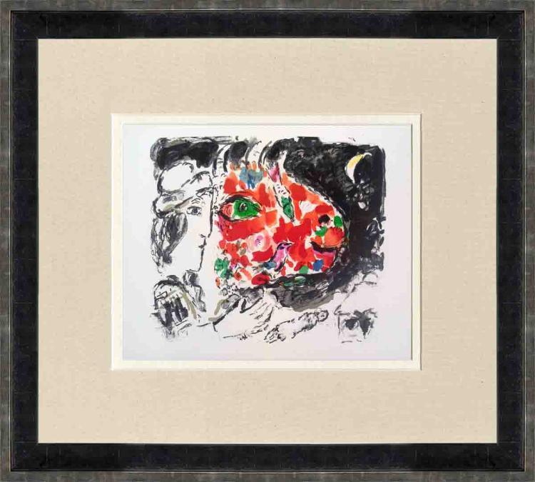 Marc Chagall - Derriere le Miroir, no.198, pg 14,15 - 1972