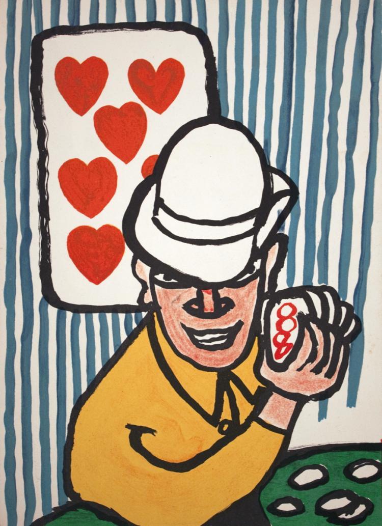 Alexander Calder - DLM 212 Page - 1975